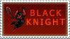 Black Knight Stamp by StarryTiger