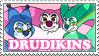 Drudikins stamp by StarryTiger