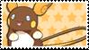 Shiny Alola Raichu Stamp by StarryTiger