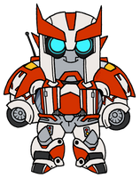 Chibi TFP Ratchet by StarryTiger
