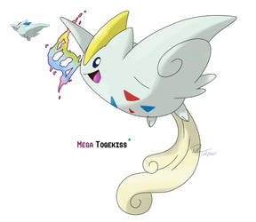 Mega Togekiss by LeafyHeart