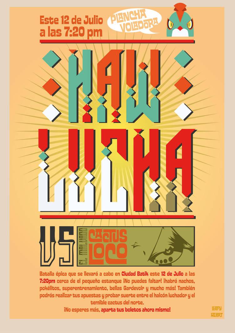 Hawlucha Poster by LeafyHeart