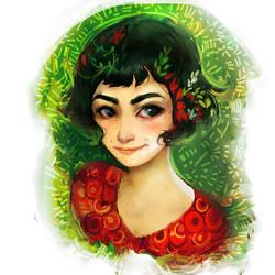 Amelie Poulain by Eldensa