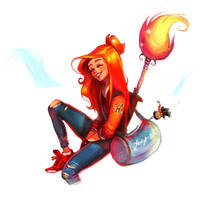 Ginny by Eldensa