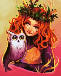 Owl Girl by Eldensa
