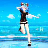 [MMD] TDA HatsuneMiku Christmas! [DL] by MMDVocaloidThailand