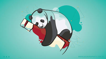 Panda and Ketchup _ Widescreen by aguagraphics