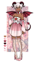 #34 ADOPTABLE [CLOSED] ::Succubus:: by Star-Kaito