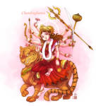 Chandraghanta mata by In-Sine