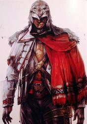 Ratonhnhake:ton Concept Art 1 by AssassinsCreedTroy