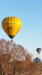 Hot Air Balloon Stock 9 by LuchareStock