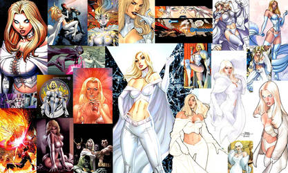 Emma Frost appreciation by GABaker-Author