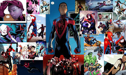 Spider-Man Miles Morales appreciation by GABaker-Author