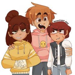 Best Friends by Mossytuna
