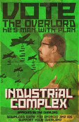 Industrial Complex Green Poster 3 by DragonMatterGames