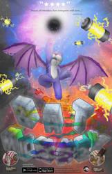 Batmonkey Poster by DragonMatterGames