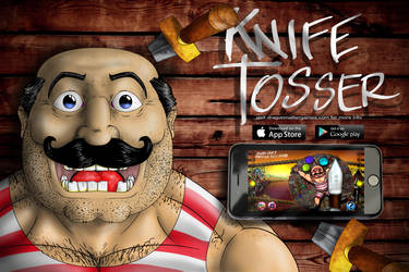 Knife Tosser the App by DragonMatterGames