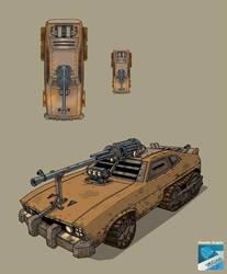 War CAR by claudiobitcube