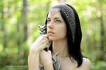 Chainmail headscarf 'Joan' by Madormidera