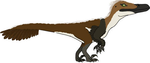 Austroraptor by PaleoFauna