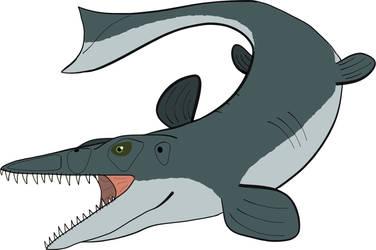 Tylosaurus V1  by PaleoFauna