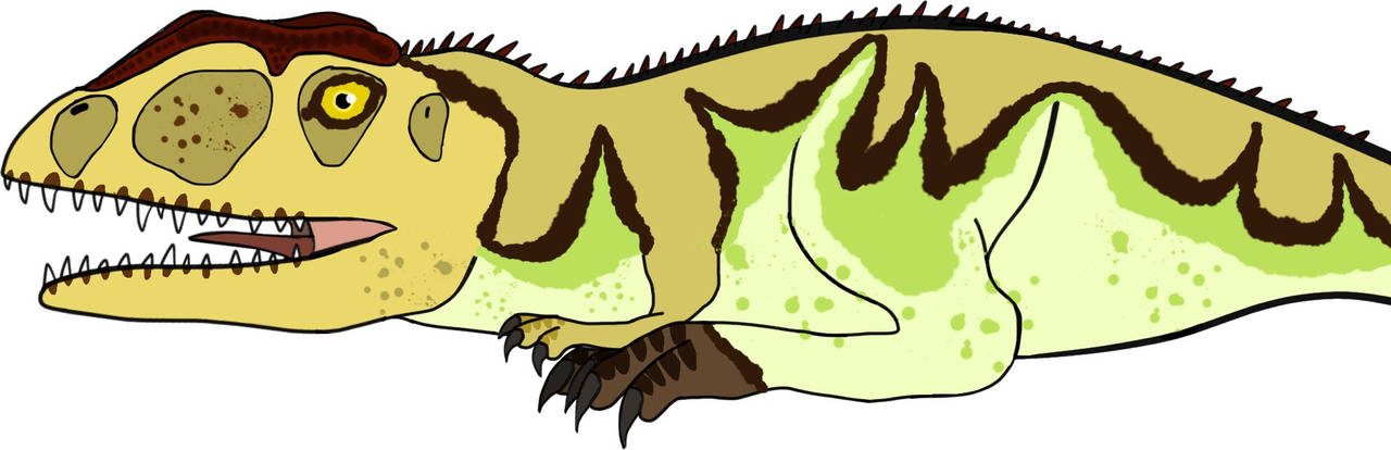 Giganotosaurus V1 by PaleoFauna