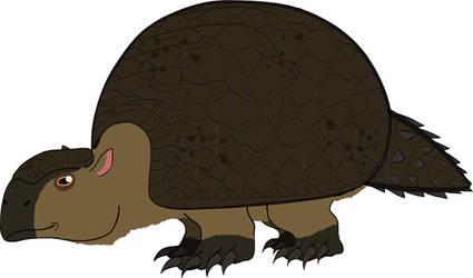 Glyptodon by PaleoFauna