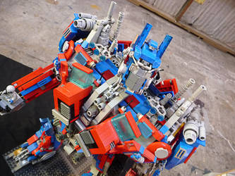 Legomus Prime by buzzyPsychedelicness