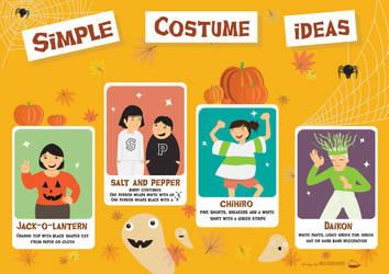 Simple Costume Ideas by JillianEdward