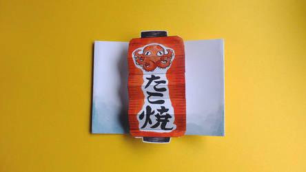 takoyaki lantern pop up by JillianEdward