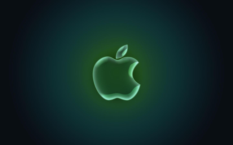 glass apple wallpapere1337za on deviantart