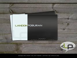 Business Card Concept by e1337zA