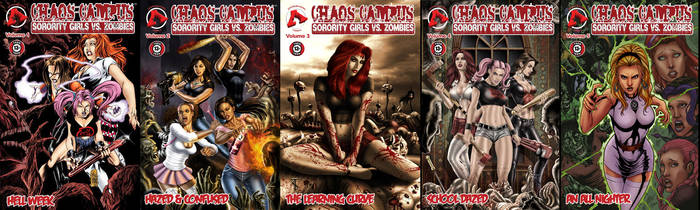 Chaos Campus - Act 1 TPBs by ChaosCampus