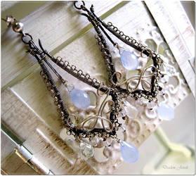 Ethereal Earrings by sparkfairy