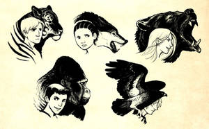 The Animorphs by lackofa