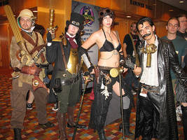 Steampunk Group Teaser by RouletteDantes