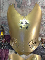 Brass Vestplate by RouletteDantes