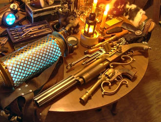 Lightning Projection Gun by RouletteDantes