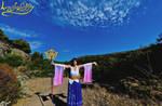 Summoning Shiva :--- Yuna CosPlay ---: by Laurelin-CosPlay