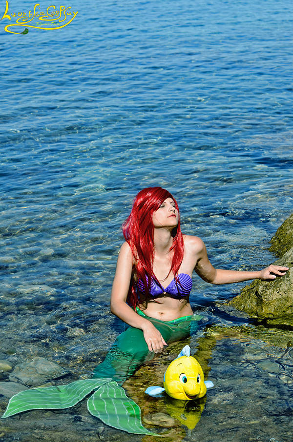 Wish I could be part of your world :-- Ariel --: by Laurelin-CosPlay