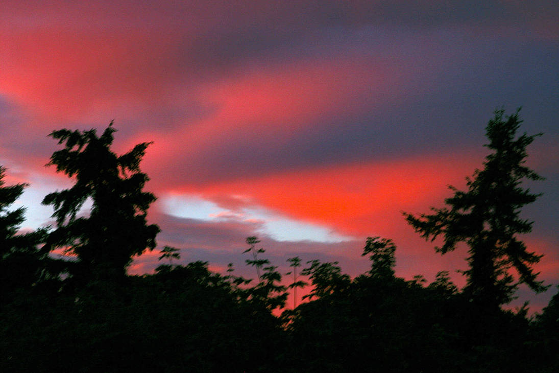 Sky On Fire by Nookster