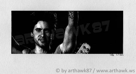 Darkness comes at dawn - Jared Leto by arthawk87