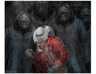 Red Ghost by strib