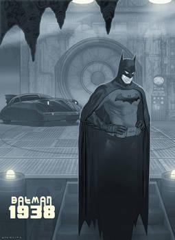 Batman 1938 by strib