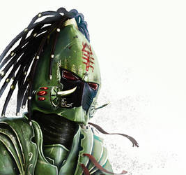 Striking Scorpion by Kharneth