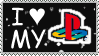 Play Station Stamp by InuyashaServant