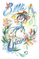 Billie the Unicorn by potatofarmgirl