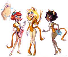 Josie and the Pussycats by potatofarmgirl