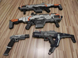 Titanfall Weapons by WarlordCommander