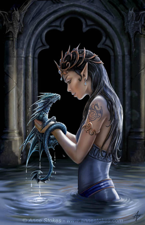 Water dragon by Ironshod